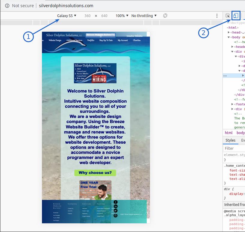 Breeze Website Builder Help